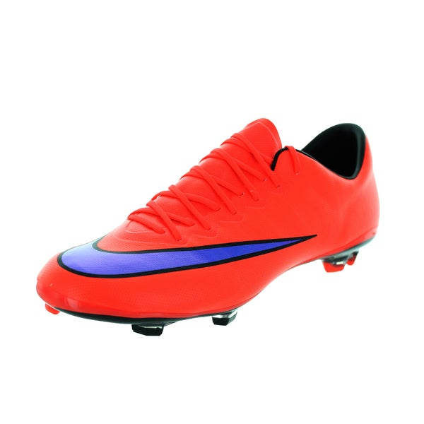 Nike Kids Jr Mercurial Vapor x Fg Brightt Crimson/ Violet/Black Soccer Cleat