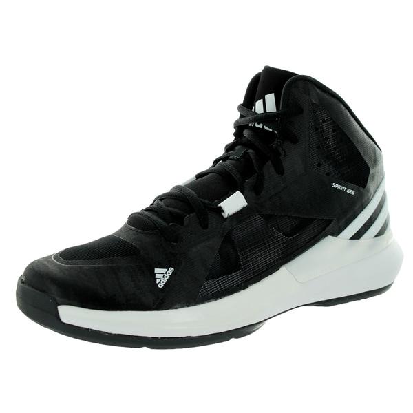 Adidas Men's Crazy Strike Black/White/Black Basketball Shoe