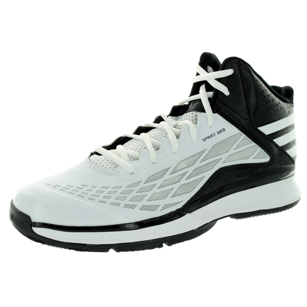 Adidas Men's Transcend White/White/Black Basketball Shoe