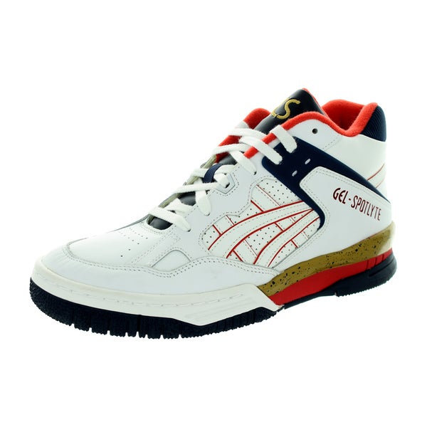 Asics Men's Gel-Spoyte White/White Basketball Shoe