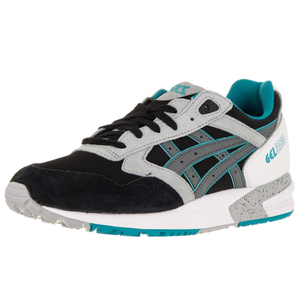 Asics Men's Gelsaga Black/Grey Running Shoe