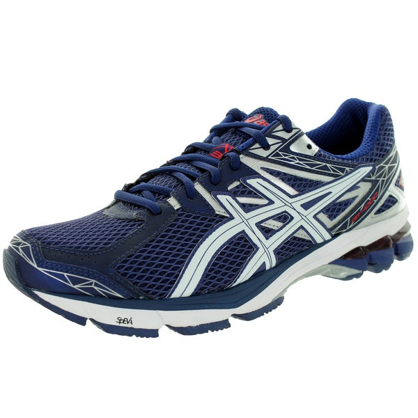 Asics Men's Gt-1000 3 Midnight/White/Red Running Shoe