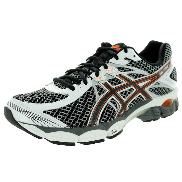Asics Men's Gel-Flux 2 Onyx/Black/Flash Orange Running Shoe