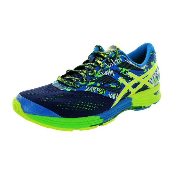 Asics Men's Gel-Noosa Tri 10 Midnight/Flash Yellow/Flash Green Running Shoe
