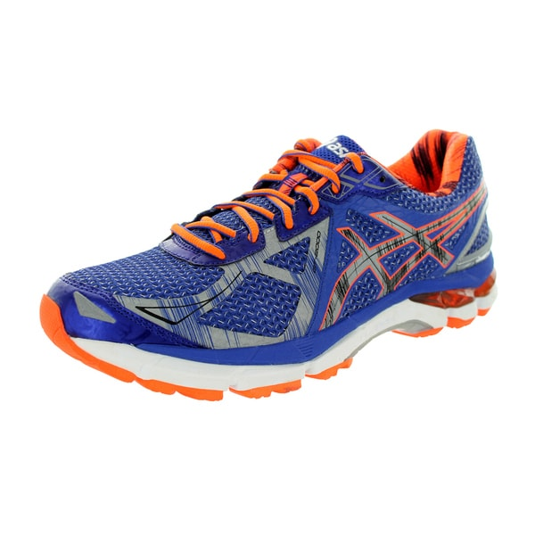 Asics Men's Gt-2000 3 Lite-Show True Blue/Lite/Shocking Orange Running Shoe