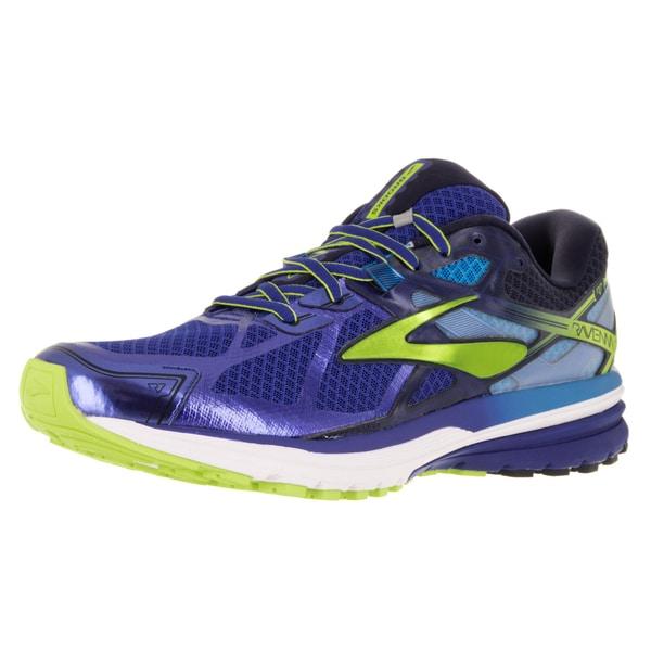 Brooks Men's Ravenna 7 Surftheweb/Limepunch/Peacoatna Running Shoe