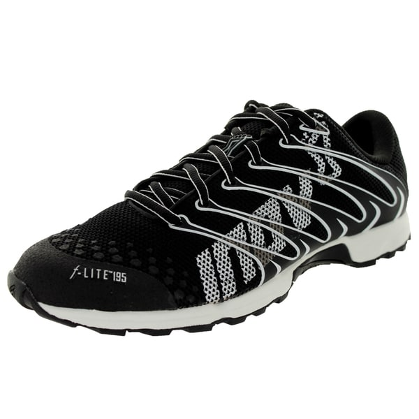 Inov-8 Unisex F-Lite 195 Black/White Running Shoe