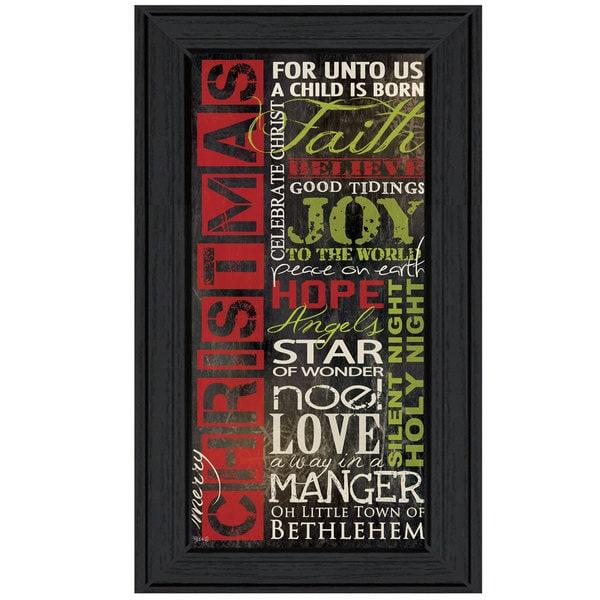'Definition of Christmas' Framed Print