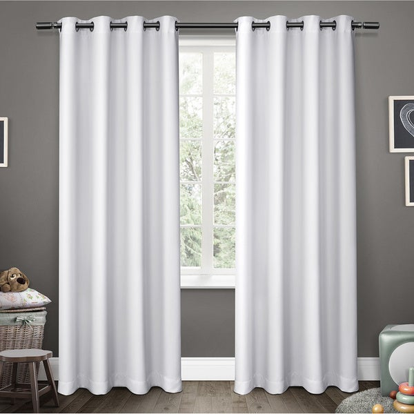 ATI Home Sateen Blackout Kids Grommet Top Window Curtain Panel Pair (As Is Item)