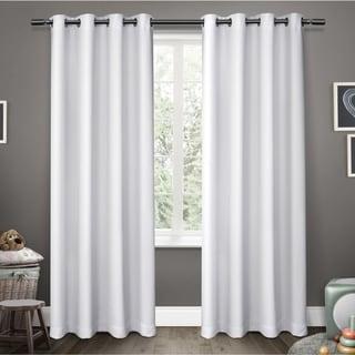 ATI Home Sateen Blackout Kids Grommet Top Window Curtain Panel Pair