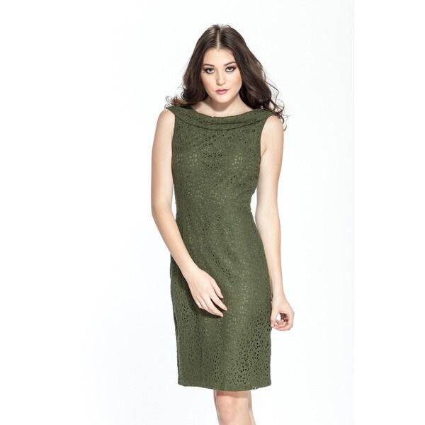 Amelia Sleevless Lace Dress