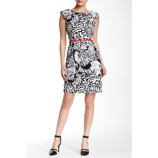 Amelia Sleevless Printed Sheet Dress