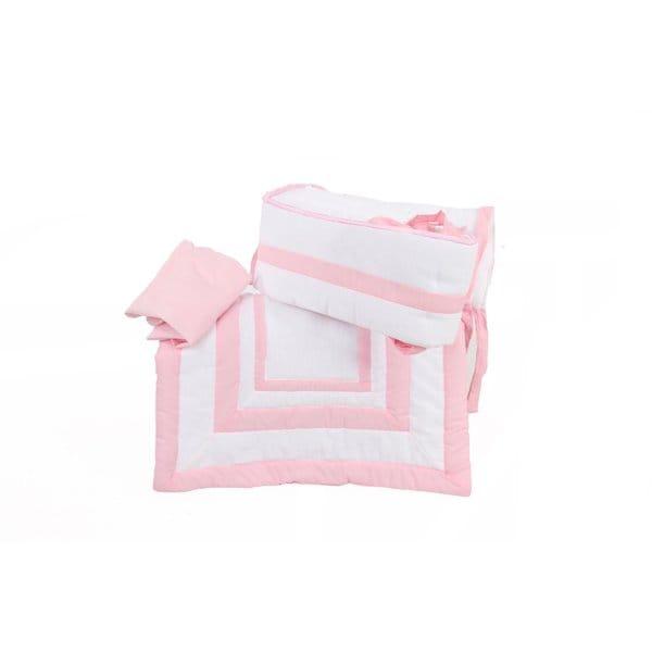 BabyDoll Double Hotel Miniature 3-piece Crib Bedding Set