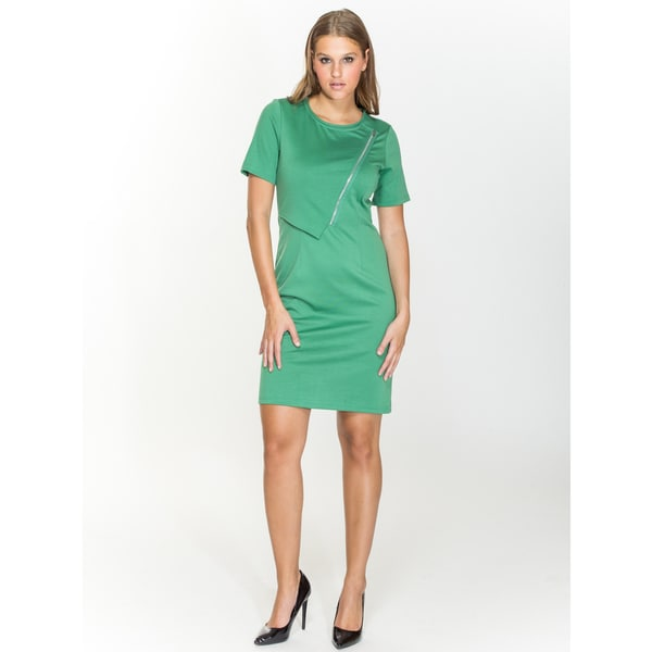Amelia Solid Ponte Dress