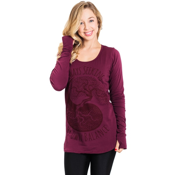 Seek Balance Organic Long Sleeve Top (Nepal)