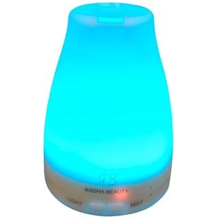 Radha 7-color 120-milliliter Aromatherapy Essential Oil Diffuser