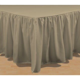 Brielle Wave Solid Bed Skirt