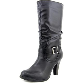 Arizona Jean Company Women's 'Absolute' Black Faux-leather Boots