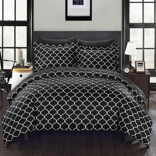 Chic Home Maitland BIB Black Comforter 7-Piece Set
