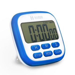 Electric Kitchen Timer with 24-hour Countdown, Beep Sound, Strong Magnets, and Retractable Stand for Kids, Cooking, Testing