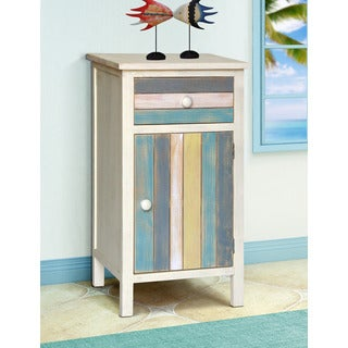 Gallerie Decor Seaside Multicolored Wood Cabinet