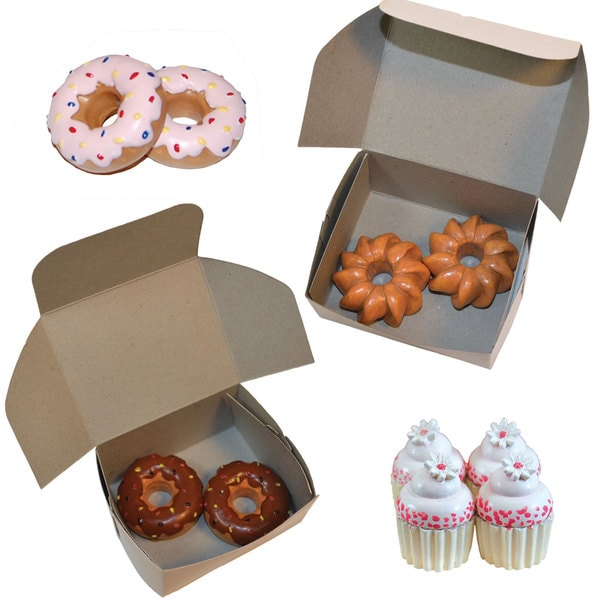 The Queen's Treasures 18 Inch Doll Bakery Pastry Shop Accessories:14 pc Doughnuts & Cupcakes