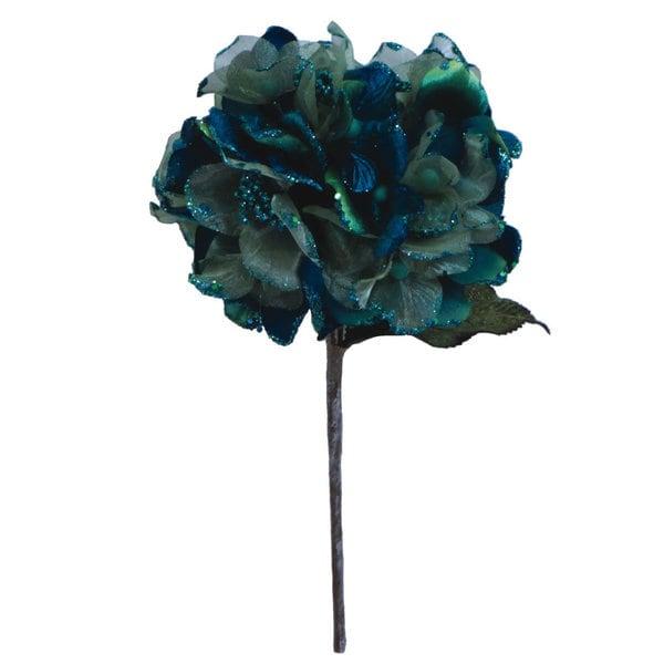 29-inch Peacock Velvet Hydrangea with 7-inch Flower
