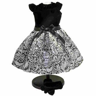 The Queen's Treasures Little Black Dress Doll Clothing Outfit for 18-inch Girl Dolls