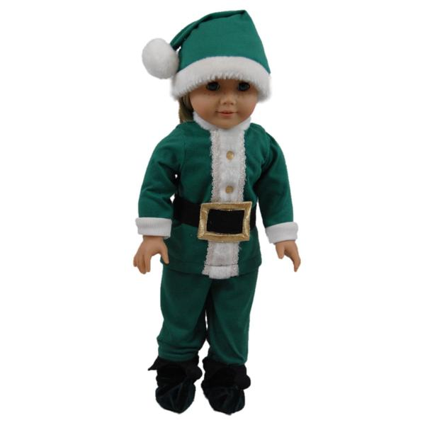 """The Queen's Treasures Night Before Christmas Costume Pajama Doll Clothing Outfit, Clothes & Accessories for 18"""" Girl Dolls"""