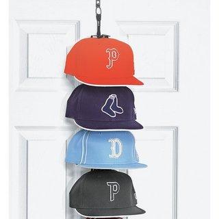 The Perfect Curve Black 36-cap Hanging Cap Organizer