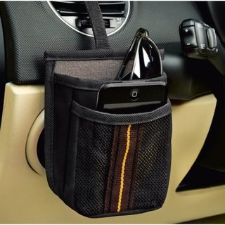 High Road Express Air Vent 2-Pocket Car Cell Phone Holder