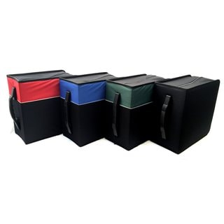 Cloth 456-disk CD/DVD/Blu-ray/Media Jumbo Wallet Folder Carrying Case