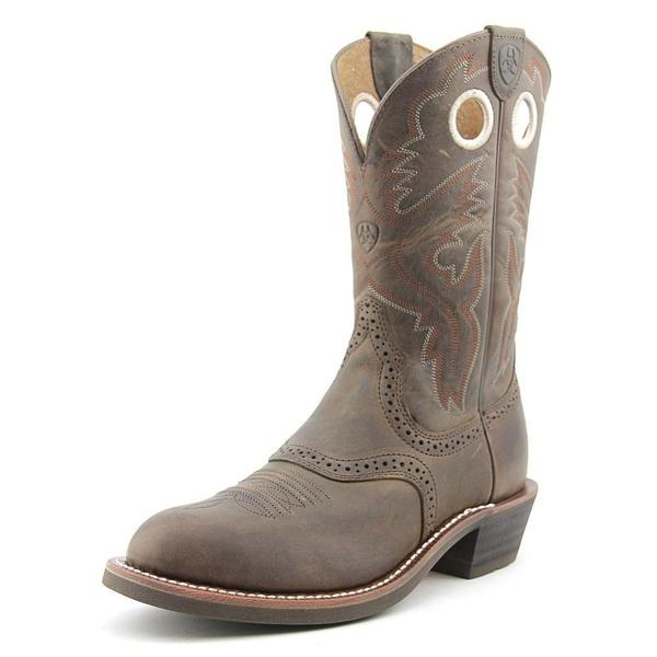 Ariat Women's Heritage Roughstock Brown Leather Boots