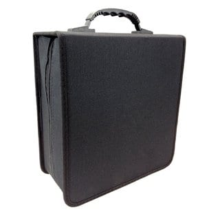 iLogic Black Nylon 350-disc CD/DVD Wallet Storage Case