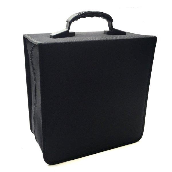 Boostwaves Black Cloth Jumbo 456-disk CD/DVD/Blu-Ray Media Premium Wallet Folder Carrying Case 19902241