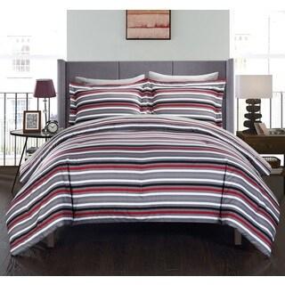 Chic Home Rianne BIB Grey Comforter 7-Piece Set