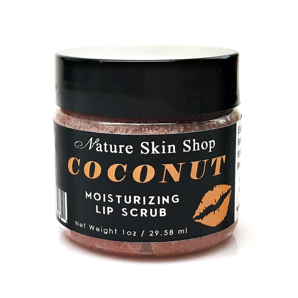 Coconut Moisturizing Sugar Lip Scrub