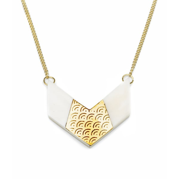 Anika Chevron Necklace (India)