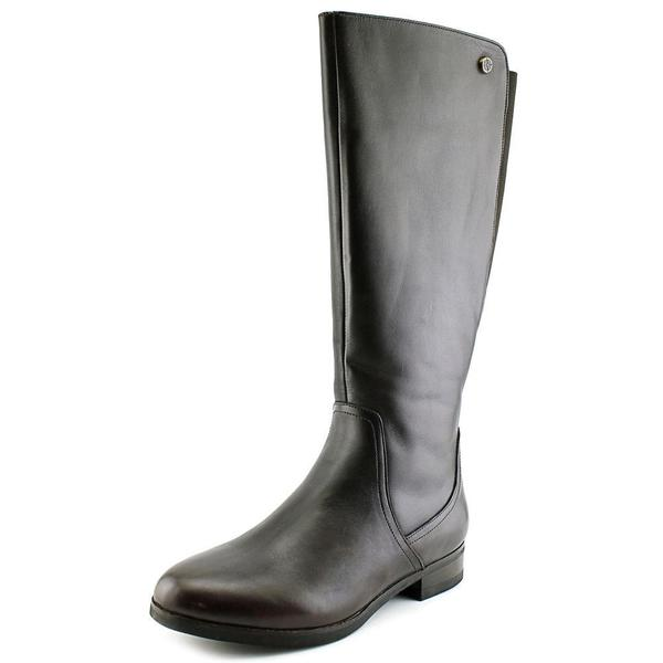 Bussola Style Women's Lyon Brown Leather Boots