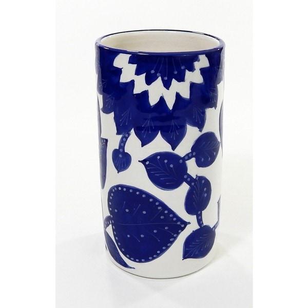 Le Souk Ceramique Jinane Stoneware Utensil/Wine Holder (Tunisia)