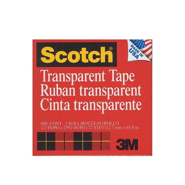 Transparent Tape [Pack of 6]