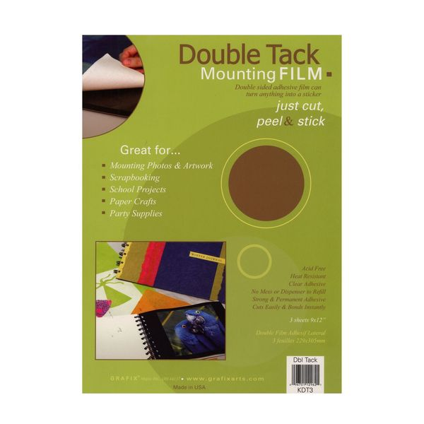 Double Tack Mounting Film [Pack of 3]