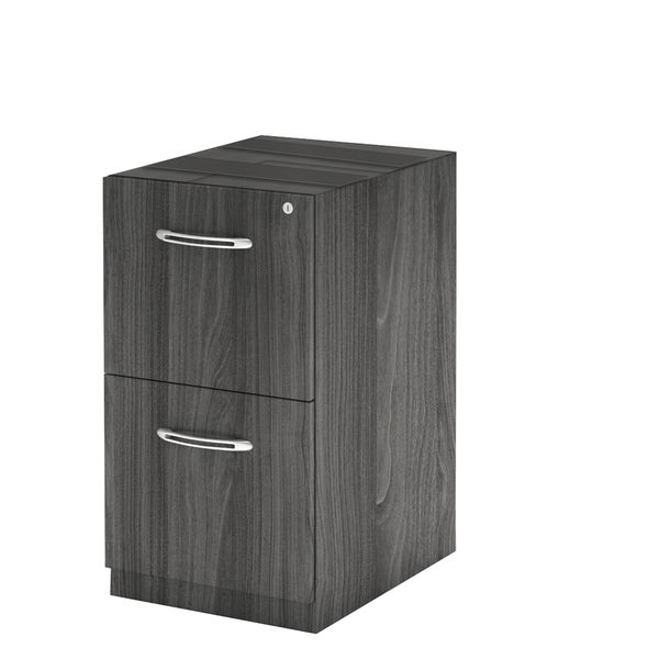 Mayline Aberdeen Series Grey Laminate Vertical File Cabinet 19905076