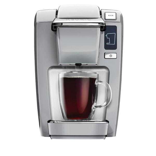 Keurig K15 Coffee Maker, Platinum