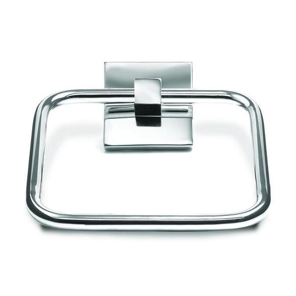 Croydex Brompton Towel Ring in Chrome