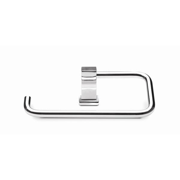 Croydex Brompton Single Post Toilet Paper Holder in Chrome