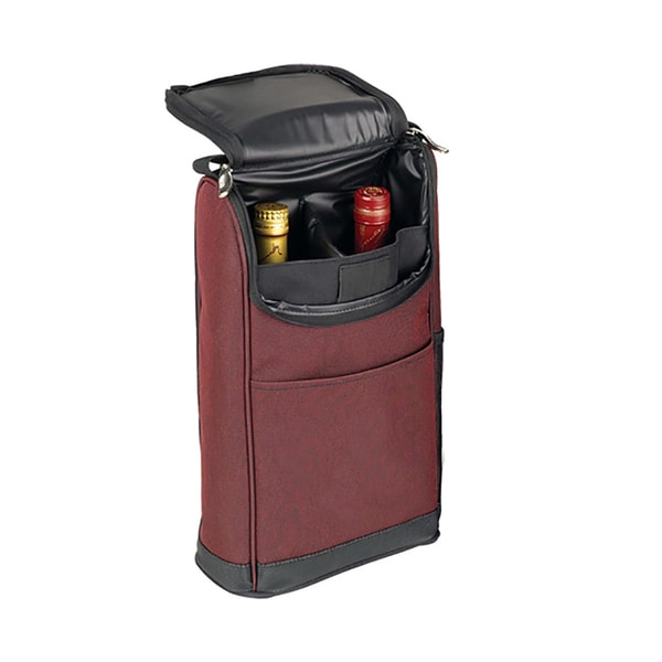 Goodhope Burgundy Travel Wine Bag