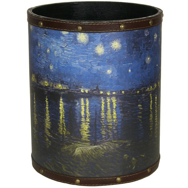 Van Gogh Over the Rhone WasteBasket (China)