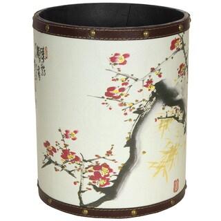 Cherry Blossom Waste Basket (China)