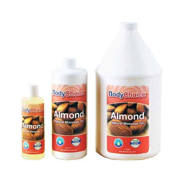 BodyChoice Natural Almond Massage Oil